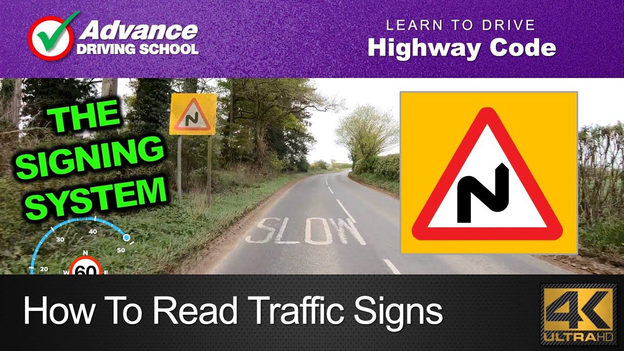 How To Read Traffic Signs Learn to drive Highway Code