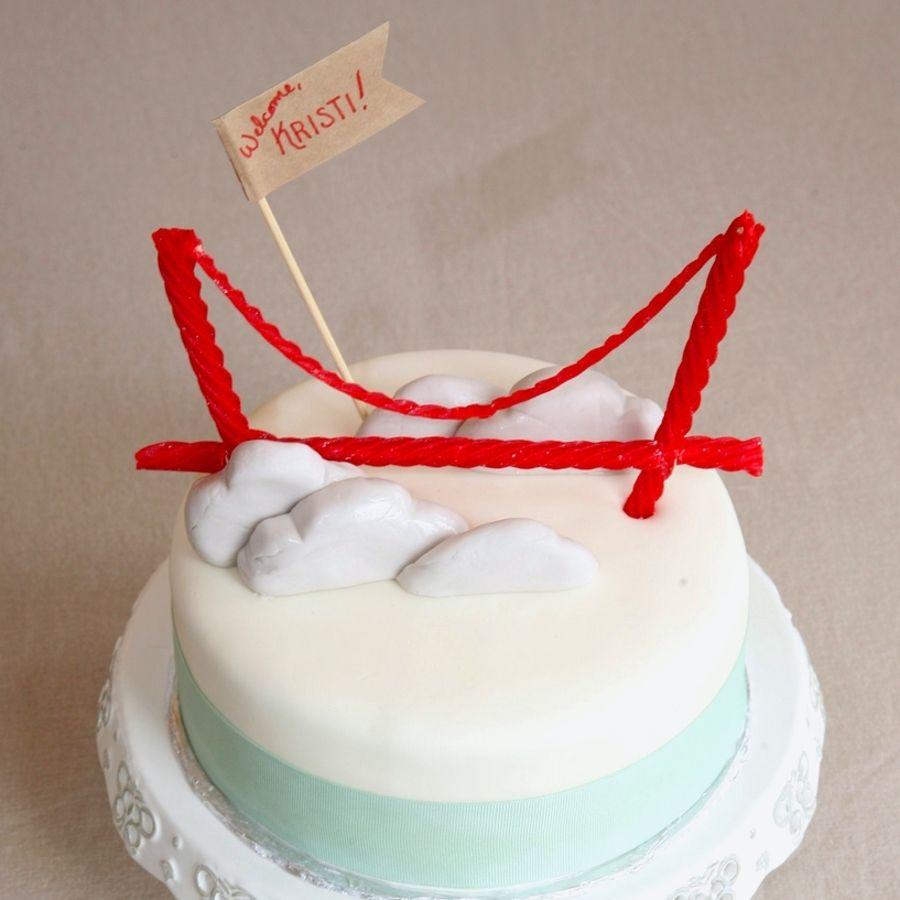 San Francisco Cake Golden Gate Bridge Cake Holiday Cookie Gift Diy Cake