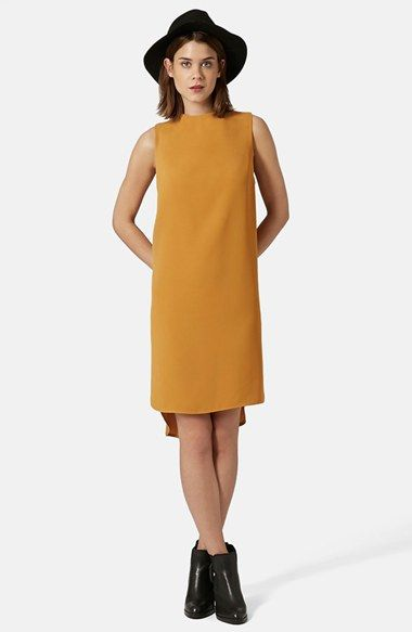 6bff70330bd0 Topshop Mock Neck Tunic Dress available at #Nordstrom | If I were ...