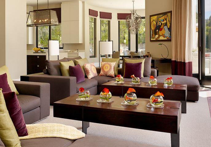 Decoration Salon Prune – Chaioscom | decoration | Pinterest | Decoration