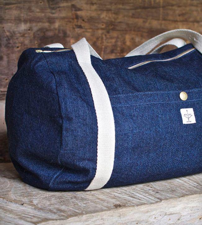 Tasche aus alter Jeans nähen – Einfache Anleitung und Ideen