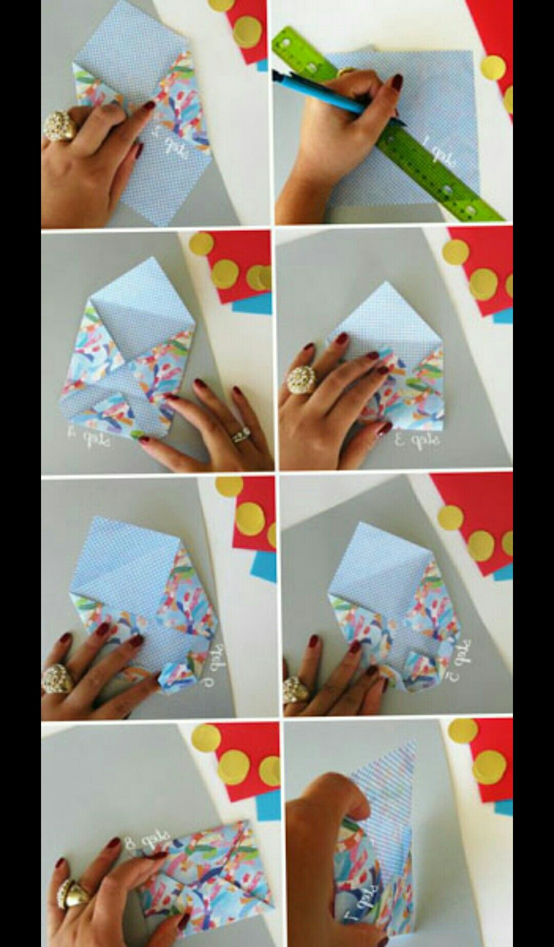 Pin by Caylee W. on Cards Crafts, Gift card envelope