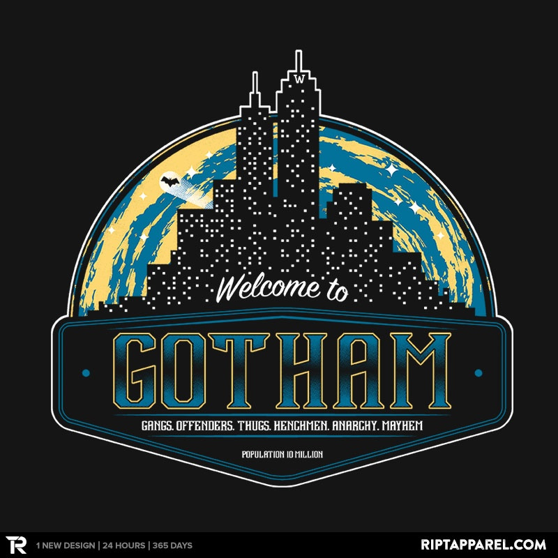 Welcome to Gotham by ArtBroken