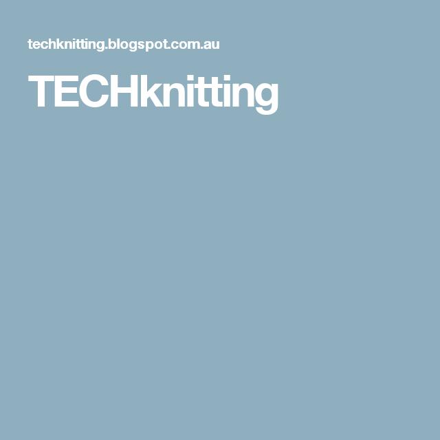 TECHknitting
