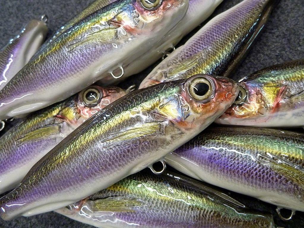 diy fishing lures painting