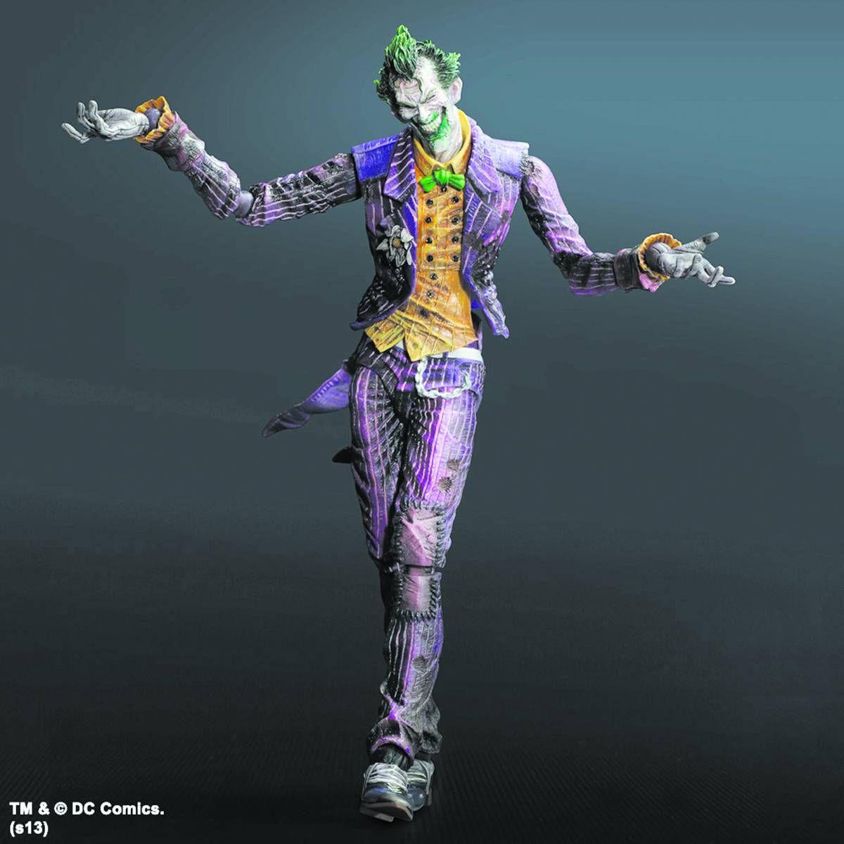 Batman Arkham City: Joker Play Arts Kai.