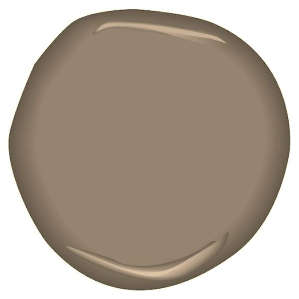 Taupe Exterior House Color Ideas: Taupe Fedora CSP-260 In 2019