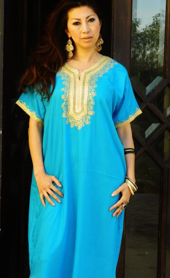 ae75bf9bbd Kaftan Sale 20% Off/ Turquoise Resort Caftan Kaftan Fez-Ramadan, Eid,  resortwear,beach coverup,loung
