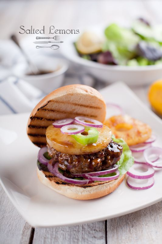 salted lemons: Turkey Teriyaki Burgers ✦ Пуешки терияки бургери