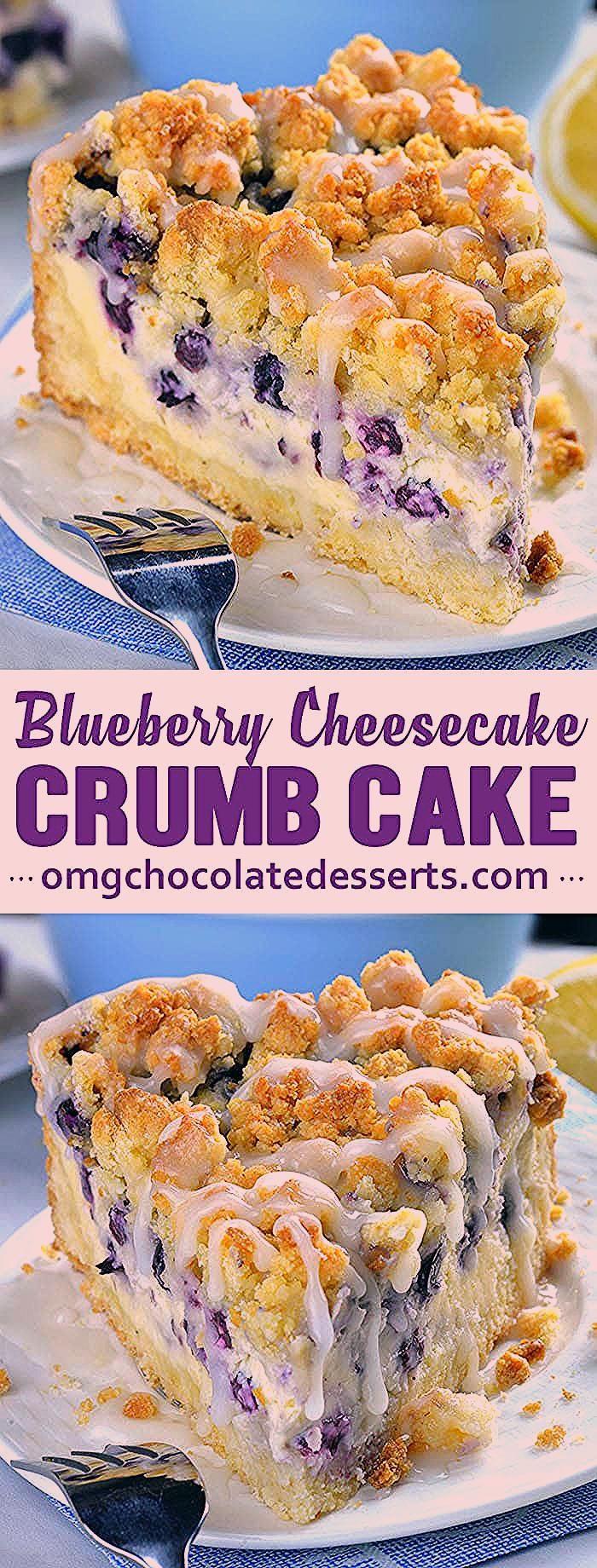 Photo of Blueberry Cheesecake Crumb Cake