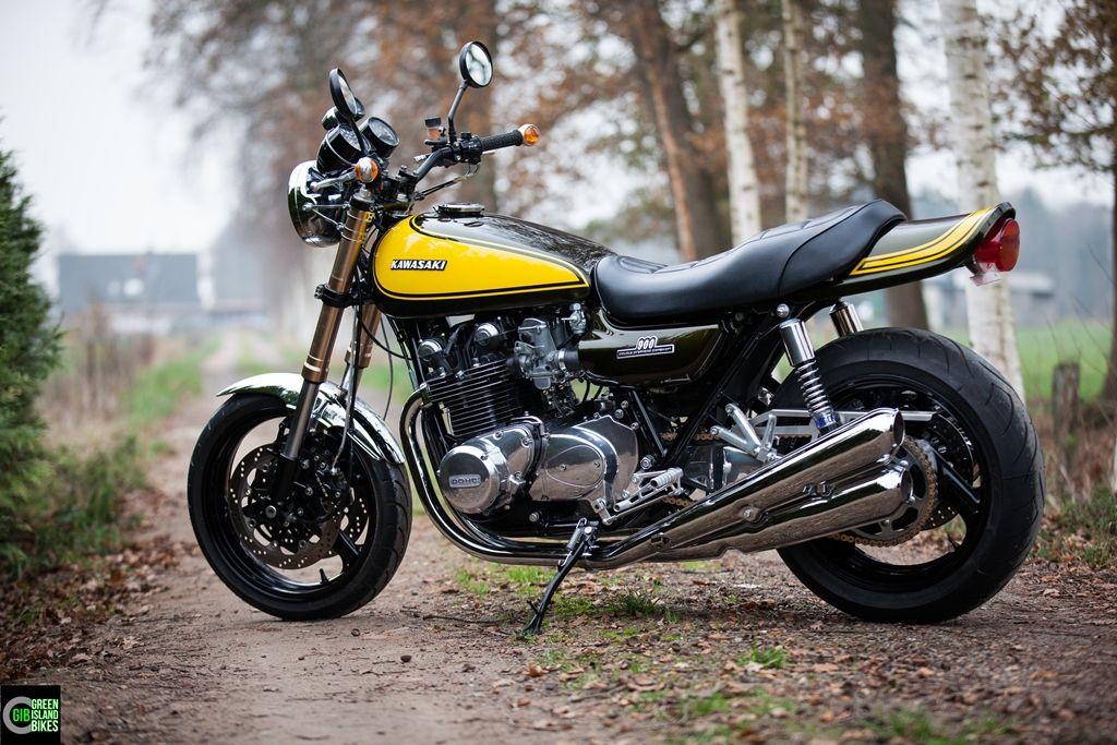 Umbau Einer Kawasaki Z 1000 Von Green Island Bikes Bikesde