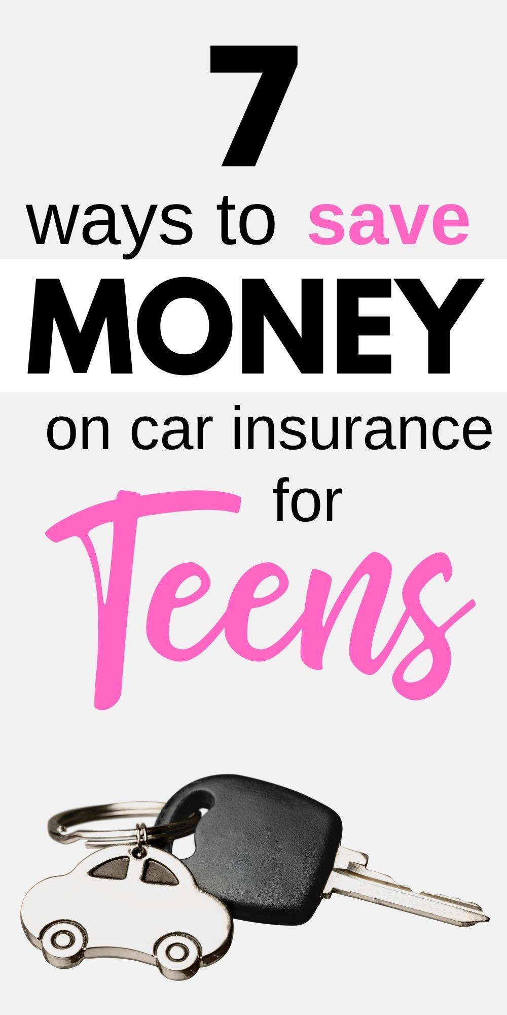 7 Ways to Get Cheap Car Insurance for Teens in 2020