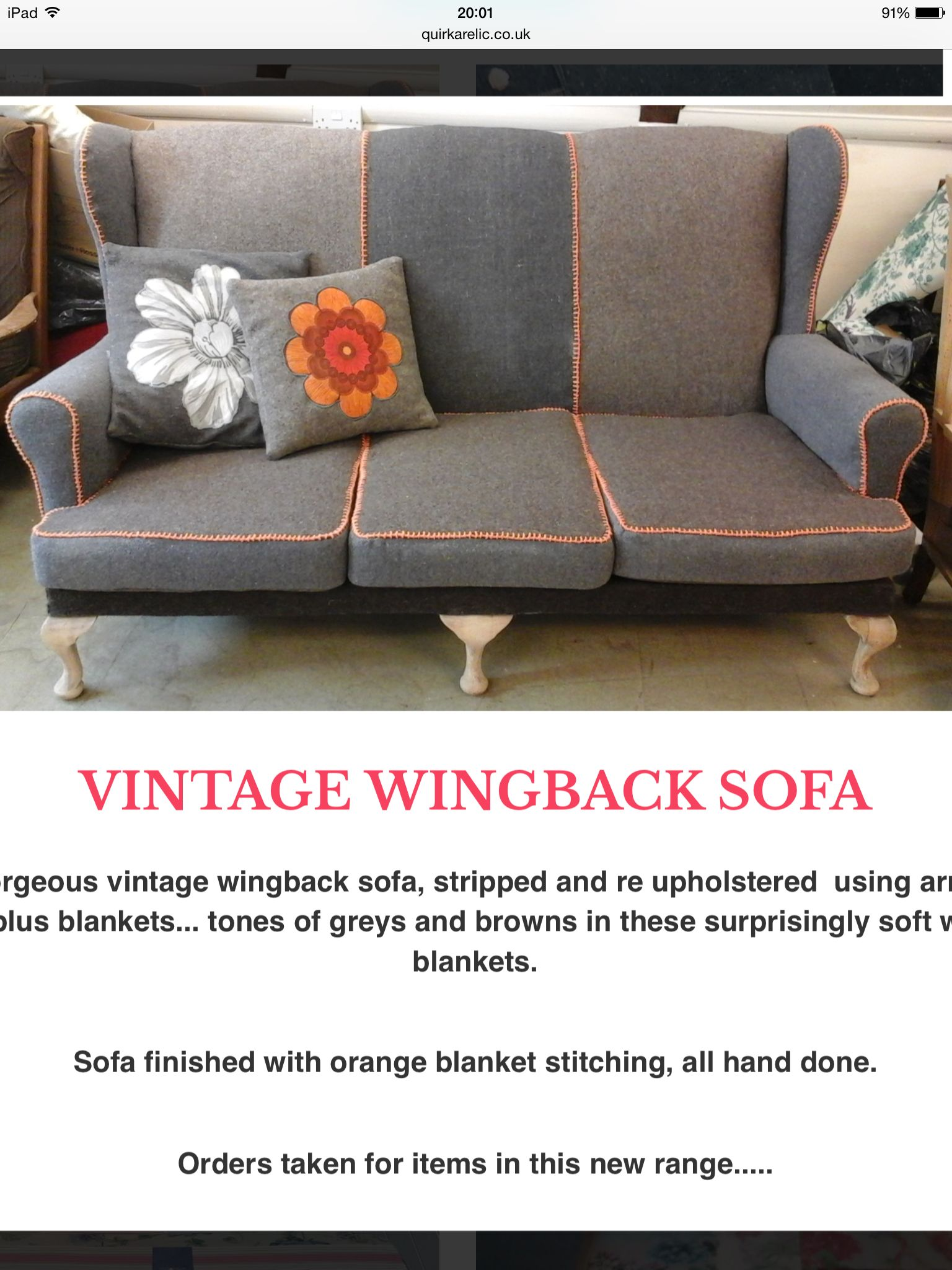 Reupholstered Parker knoll sofa Chairs Pinterest