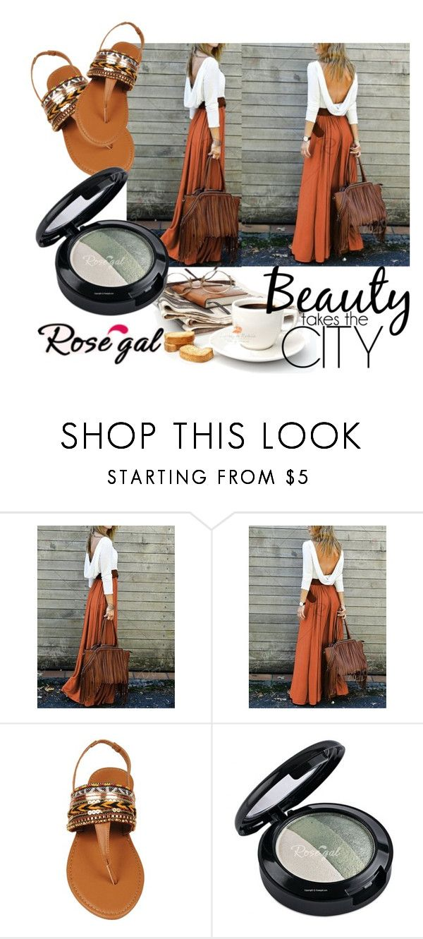 """""""Boho style 8"""" by merimaa997 ❤ liked on Polyvore featuring boho, colorful, springtime, fashionlook and rosegal"""