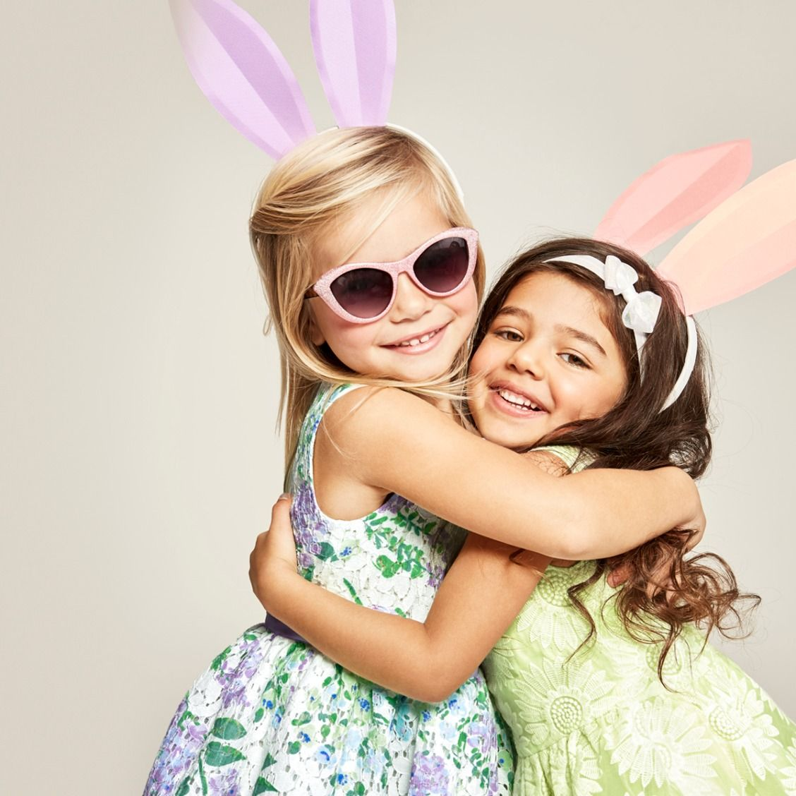 Toddler girls' fashion | Kids' clothes | Easter dresses | Floral lace dress | Headband | Sunglasses | The Children's Place