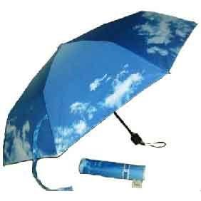 clouds in the sky umbrella