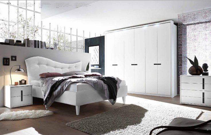 """Collezione REX: camera da letto matrimoniale con il letto """"onda ..."""