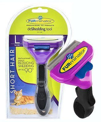 #Furminator deshedding tool brush for cat  short #/long hair #large  4.5 kg,  View more on the LINK: http://www.zeppy.io/product/gb/2/371592864852/