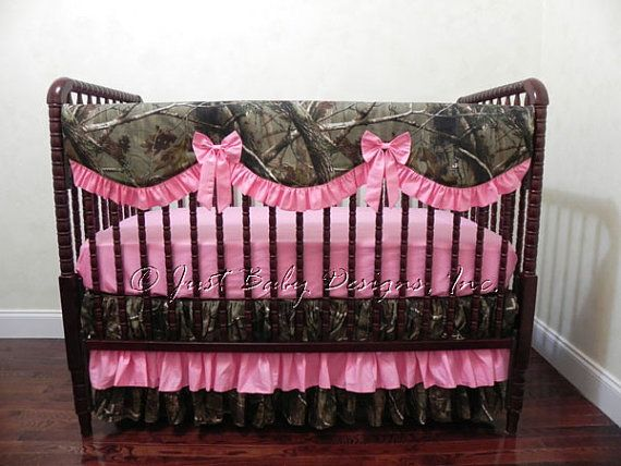 Camo Baby Bedding Set Kaylin By Babybeddingbyjbd