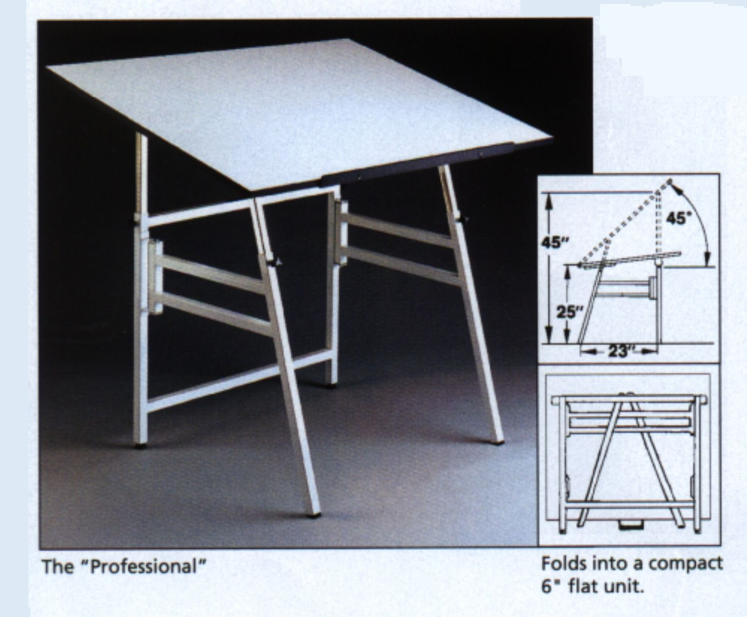 Portable Folding Drafting Table Folding Table Drafting Table