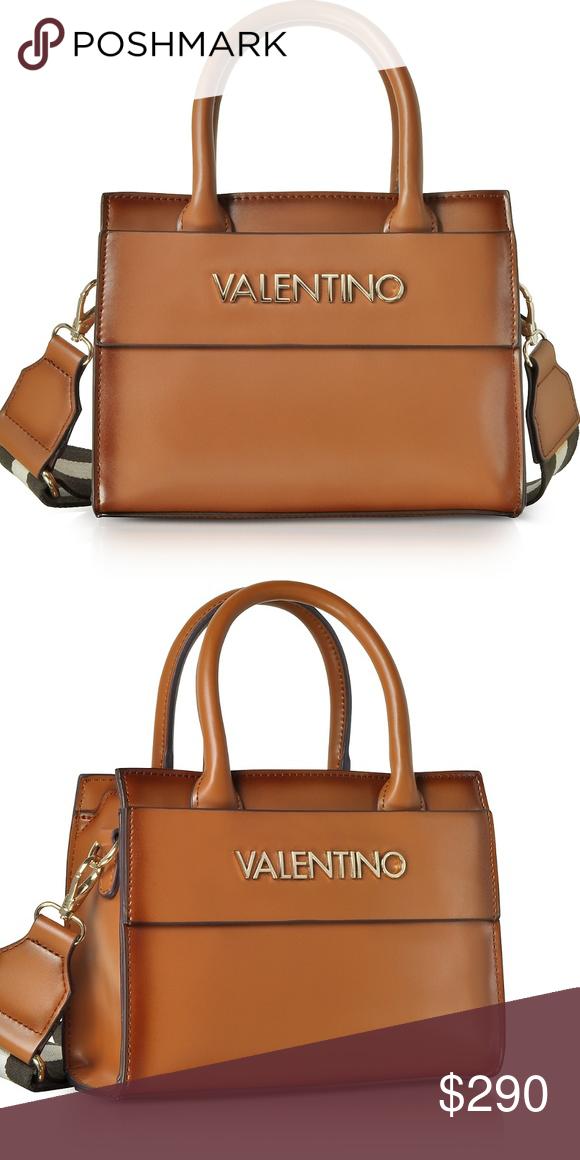 NWT  Valentino Handbag VALENTINO BY MARIO VALENTINO Small Blast Eco Leather  Tote Bag W 8.66 389995afe591a