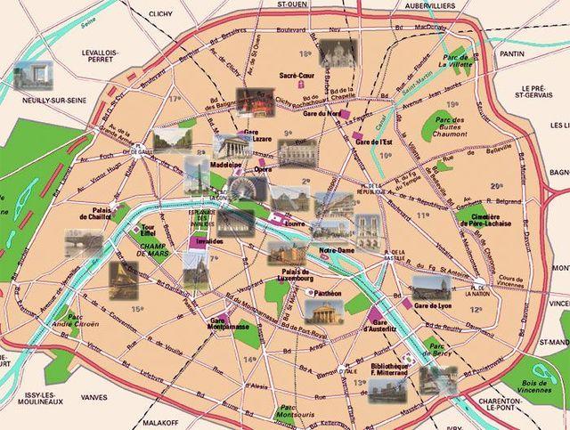 What Does The Word Arrondissement Mean Paris Map Paris City