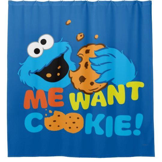 Cookie Wants Cookie Shower Curtain Zazzle Com Shower Curtain