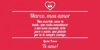 Imagem De Lindas Frases De Amor Logo Com Mensagem De Te Amo Para