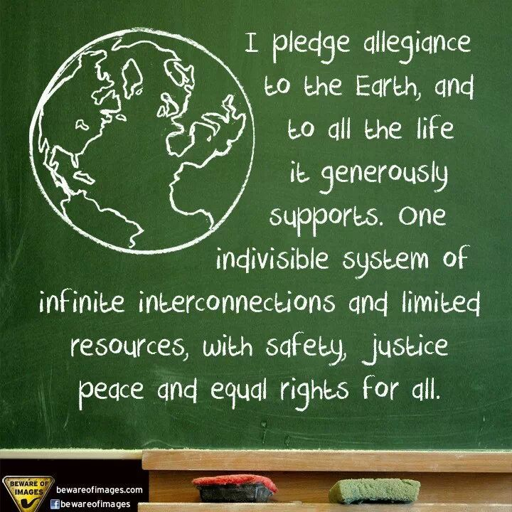 Pin About Pledge Of Allegiance World Peace And Save Our Earth On