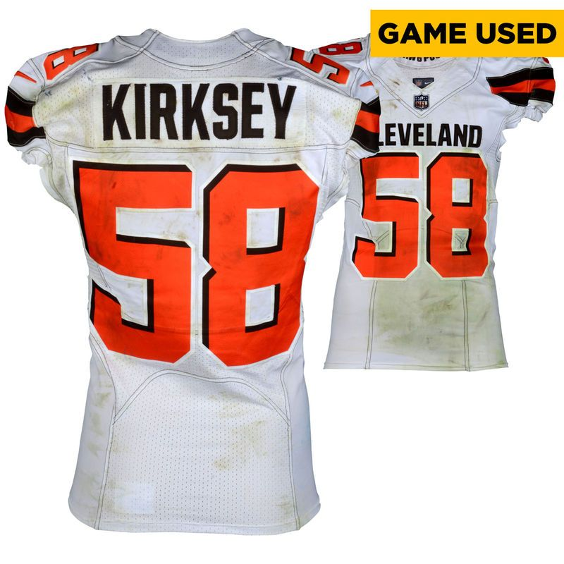 Christian Kirksey Cleveland Browns Fanatics Authentic Game