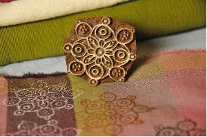 Stempel Blockwallah flower fantasy
