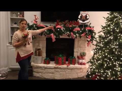Christmas Garland Tutorial Chistmas Pinterest Christmas store