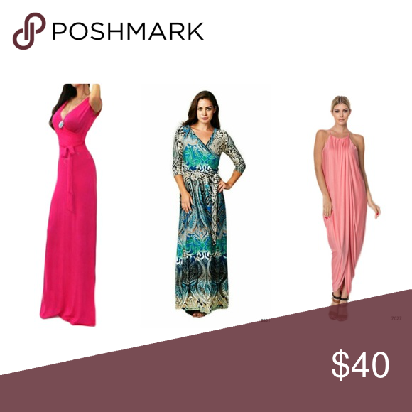 Pink Maxi Dress Teal Max Dress Peach Maxi Dress S Pink Cap Sleeve Maxi Dress Teacap