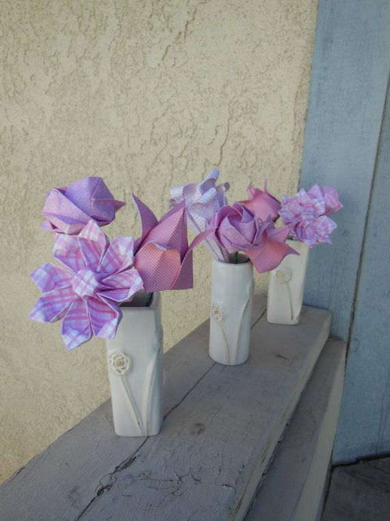 Mini origami flowers new top artists 2018 top artists 2018 ltd mini origami vases blue mini origami flower arrangement by florigamifashions on etsy blue mini origami flower arrangement by florigamifashions on mightylinksfo