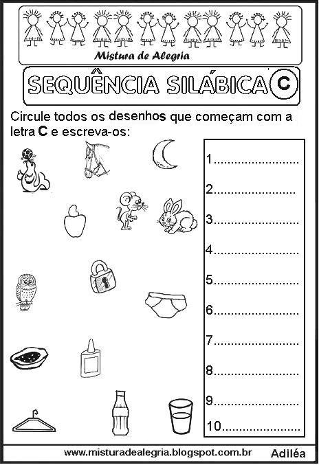 Pin von ELENEIDE ELIIAS auf sequencia alfabeto | Pinterest
