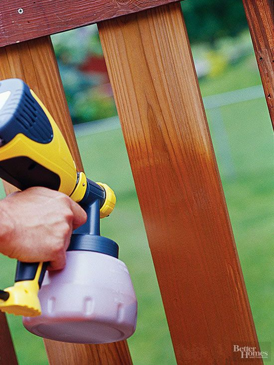 How To Refinish Your Deck Deck Stain Sprayer Deck Stain Sealer Wood Deck Stain