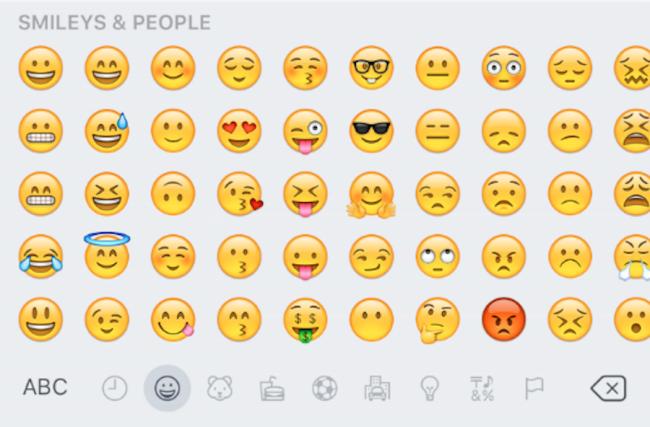 Apple Just Launched A Big New Update For The Iphone That Adds Tons Of New Emojis Emoji Keyboard Secret Emoji Emoji