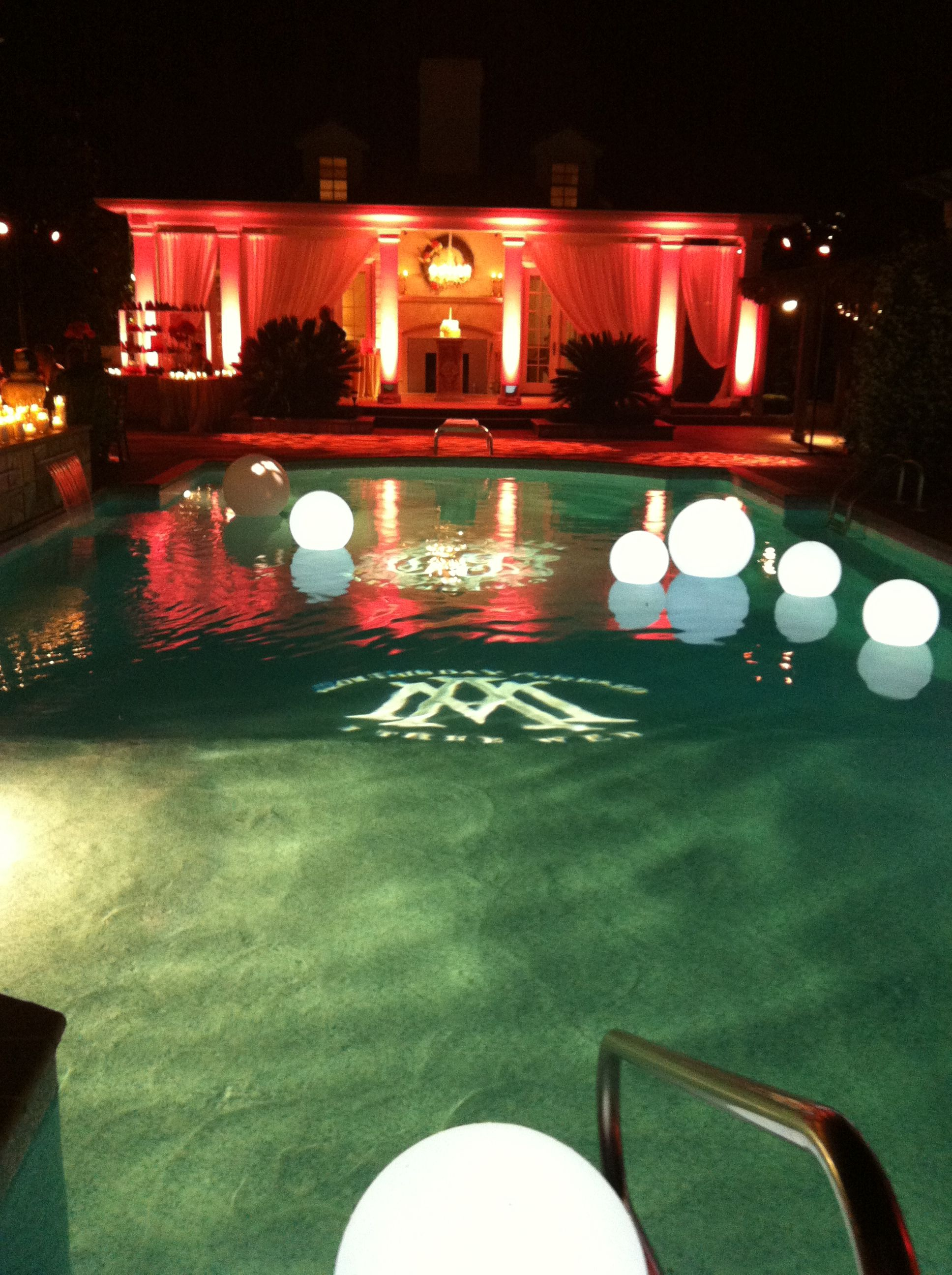Swimming Pool Decorations For Weddings Topsimages