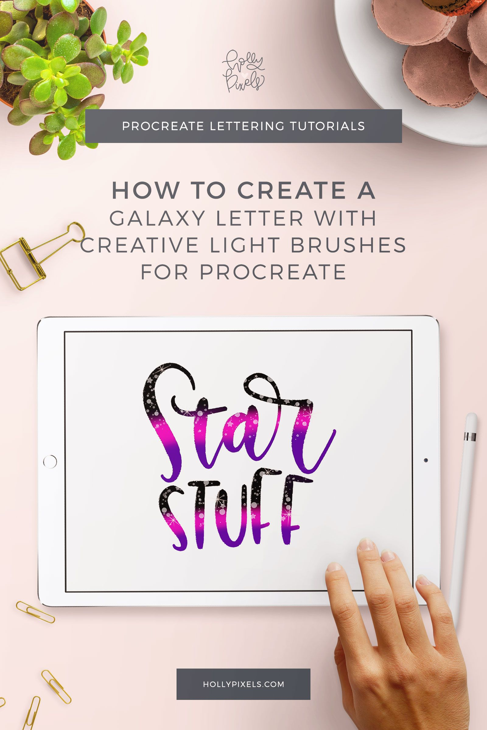 It S Time For Another Ipad Lettering Tutorial A While Back I Showed You How You Can Make A Galaxy Background Lettering Tutorial Procreate Lettering Lettering