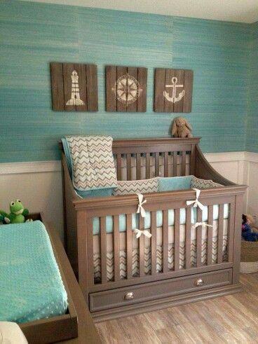 Wood Plank Nautical Signs For Sleeping Area Decor Perfect A Boy S Nursery