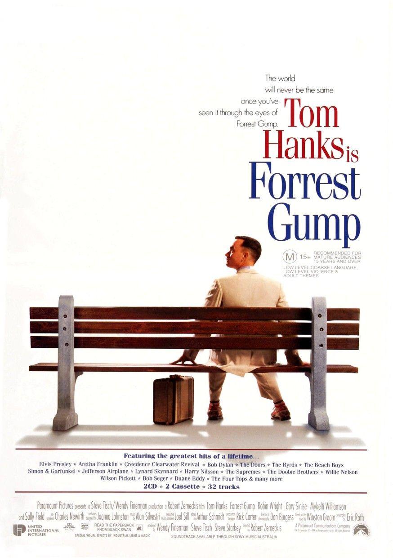 Forrest Gump By Joanne Klein On Movie Posters In 2020 Oscar