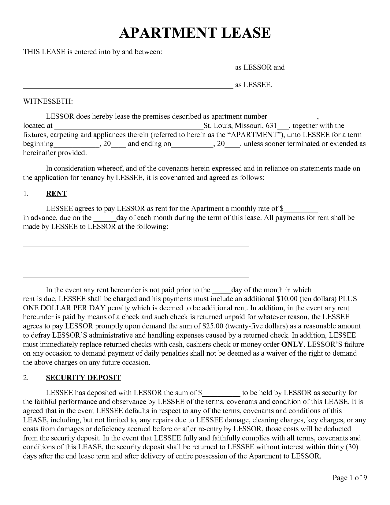 Apartment Lease Termination Letter Apartment Sublease Agreement