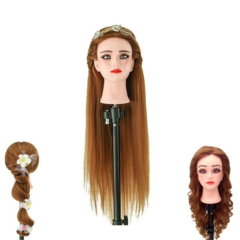 Find More Mannequins Information About 80 Gloden Human Hair Mannequin Head Professional Hairdressing Doll Heads 60c Hair Mannequin Mannequin Heads Hair Styles