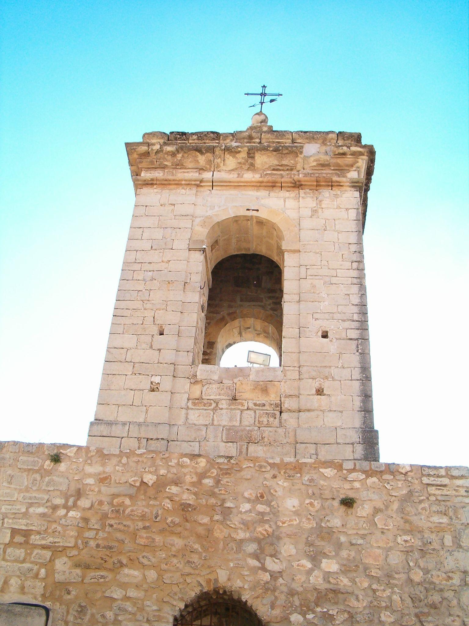 campanario de la virgen de la villa