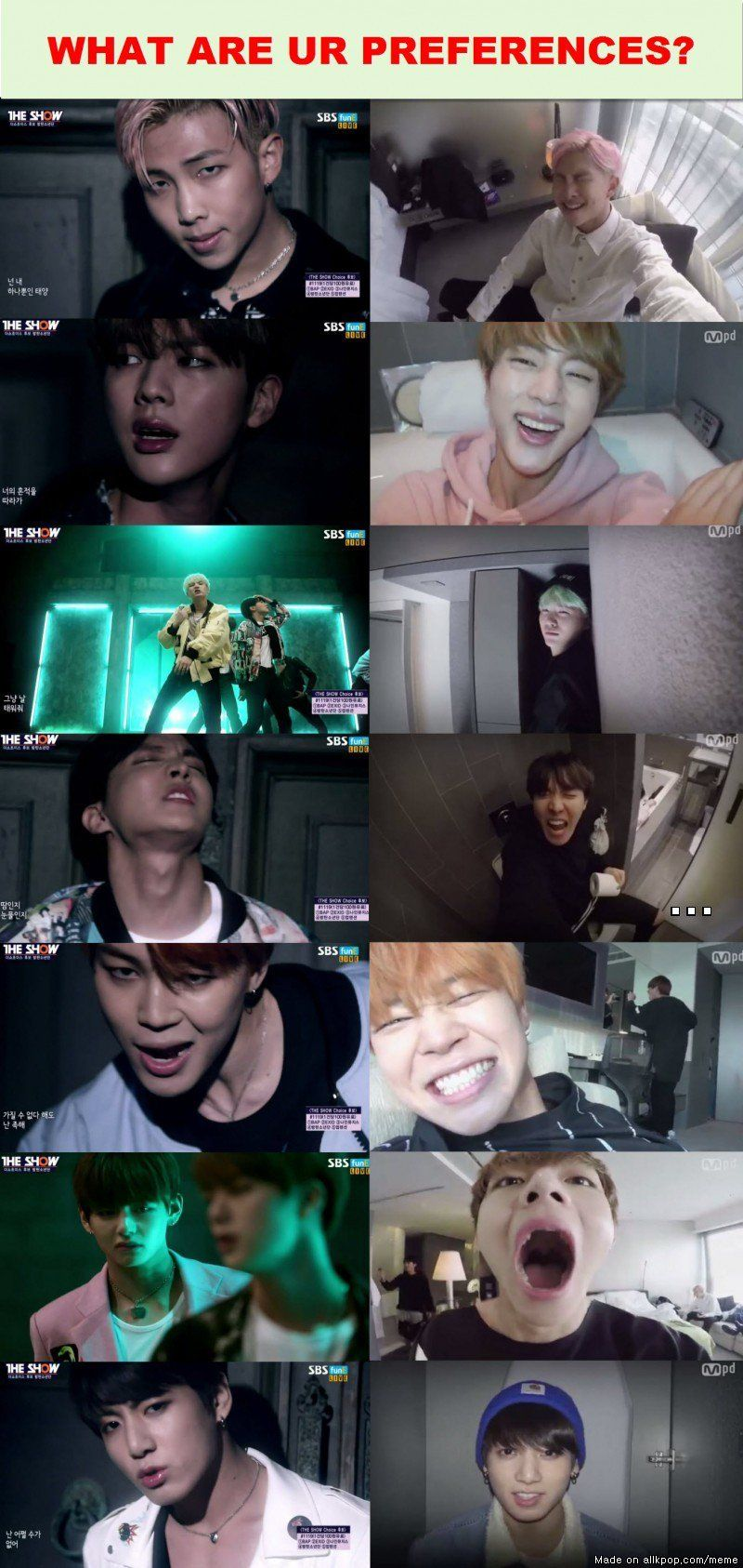 TWO VERSIONS OF RUN MV IN A DAY! | allkpop Meme Center