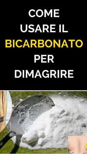 proprietà dimagranti bicarbonato di sodio