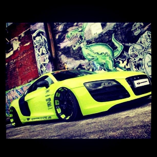 Modified Neon Audi R8 (With Images)