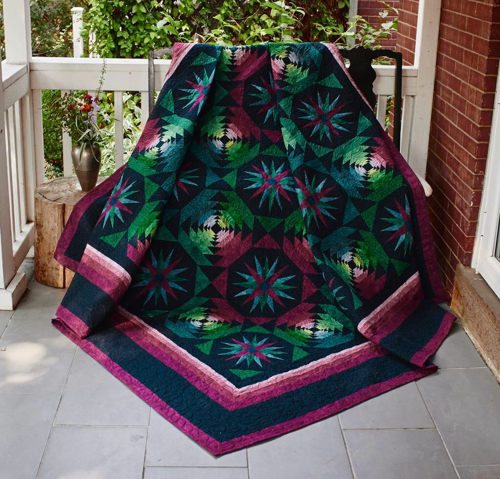 New Moon Quilt Was Designed To Showcase Jinny Beyer S