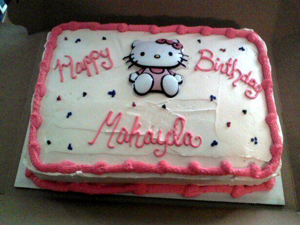 Strange Hello Kitty Cakes At Walmart Cakes Hello Kitty Birthday Cake Personalised Birthday Cards Paralily Jamesorg