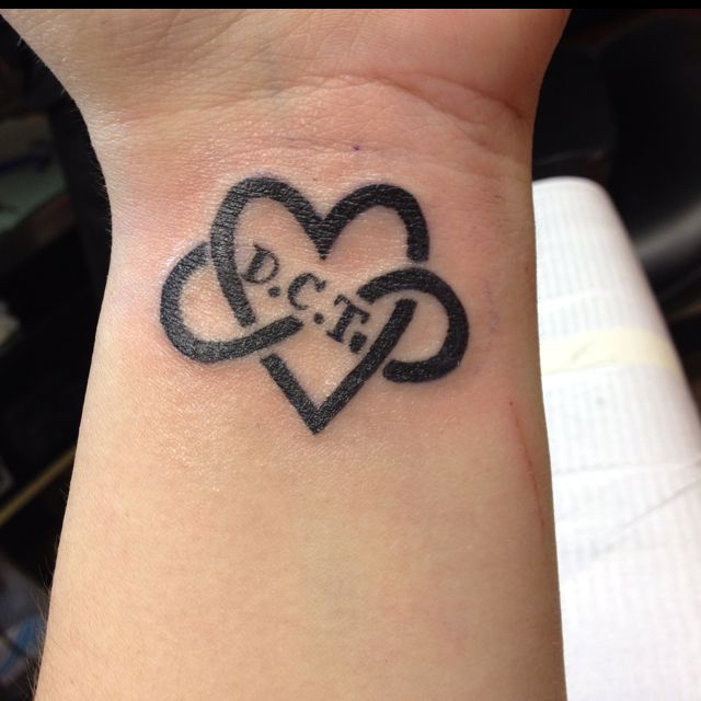 My Tattoo In Remembrance Of My Late Husband Dct Tattoos And